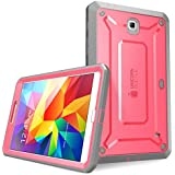 SUPCASE Samsung Galaxy Tab 4 8.0 Case - Unicorn Beetle PRO Series Full-body Hybrid Protective Case with Screen Protector (Pink/Gray), Dual Layer Design/Impact Resistant Bumper