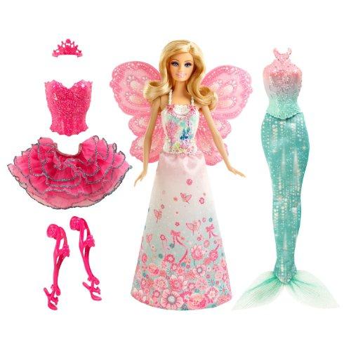 Barbie Mix & Match Fairytale Dress Up (Beige\/Sand\/Tan)