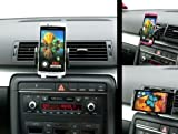 Pro V2 Air Vent Swivel Mount Car Kit with Black Holder for Sony Xperia Arc S