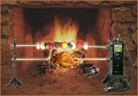 SpitJack Electric Fireplace Rotisserie Package