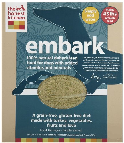 Honest Kitchen Embark: Honest Kitchen Embark Grain-Free Dehydrated Dog Food 10 Lbs