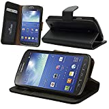 Celicious Notecase W Black Executive PU Leather Wallet Case for Samsung Galaxy S4 Active I9295 [Integrated Stand] [Robust and Versatile] [Lifetime Celicious Guarantee]