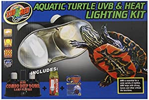 Amazon Com Zoo Med Aquatic Turtle Uvb And Heat Lighting