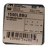Hammond 1590LBBU Blue Diecast Aluminum Enclosure - Inches (1.99