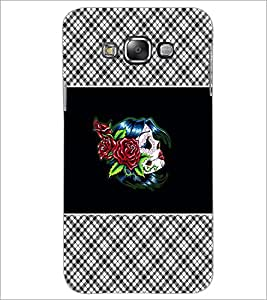 PrintDhaba Flowers D-4679 Back Case Cover for SAMSUNG GALAXY GRAND 3 (Multi-Coloured)