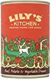 Lily's Kitchen Beef, Potato and Vegetable Dinner for Dogs 400g (Pack of 6)
