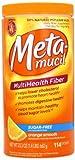 Metamucil Psyllium Fiber Supplement Orange Sugar Free Smooth Texture Powder 114 Doses