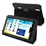 eForCity Leather Casket for Archos 101 Internet Tablet, Black