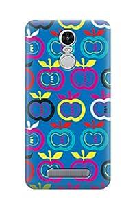 ZAPCASE PRINTED BACK COVER FOR REDMI NOTE 3 - Multicolor