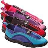 Kids Water Shoes, UPF50+ UV Sun Protective, Hard Sole, Plus Zipper (Infant/Toddler)