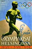 Vintage Olympics 1952 HELSINKI in FINLAND 250gsm ART CARD Gloss A3 Reproduction Poster