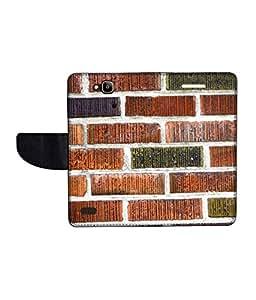 KolorEdge Printed Flip Cover For Huawei Honor Holly Multicolor -(50KeMLogo12106HonorHolly)