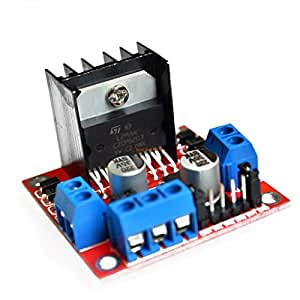 Buy cjrslrb l298n motor drive controller board dc dual h for Smart drive motor controller