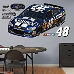 NASCAR Jimmie Johnson Fathead Wall Graphic by Fathead