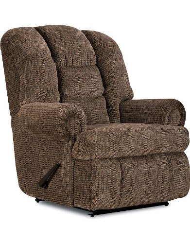 Stallion Comfort King® Chaise Wallsaver Recliner Color: Tan