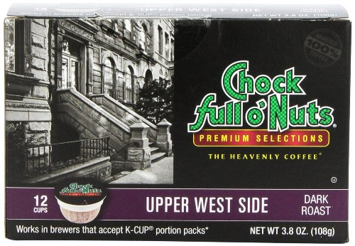Chock Full o'Nuts Upper West Side Coffee K-Cups 12 Ct - Pack Of 2 (Chock Full O Nuts Coffee Cup compare prices)