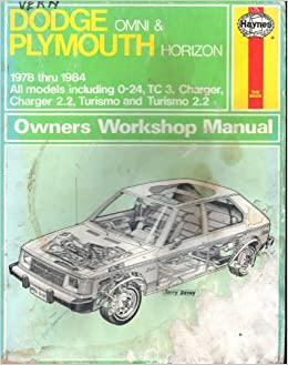 dodge omni and plymouth horizon automotive repair manual. Black Bedroom Furniture Sets. Home Design Ideas