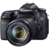 Canon EOS 70D DSLR Camera with 18-135mm IS STM and 55-250mm IS STM Lenses