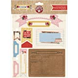 Ruby Rock-It Cook Recipe Book Refills for Scarpbooking, 8 by 8-Inch