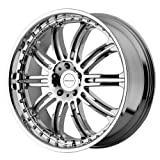 KMC Wheels Dime (Series KM127) Chrome - 24 x 10 Inch Wheel
