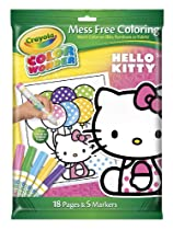 Crayola Color Wonder Hello Kitty 18 Page Coloring Pad And 5