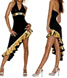 Blidece Outfit Sexy Evening Long Dress Latin Dance Clothes