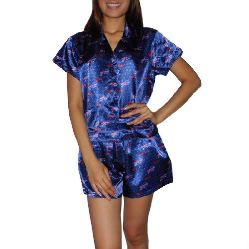 NFL Buffalo Bills Womens Gorgeous Pajama / Loungewear Set - Blue