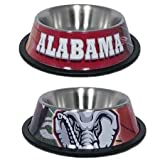 Hunter Mfg Alabama Crimson Tide Stainless Dog Bowl at Amazon.com