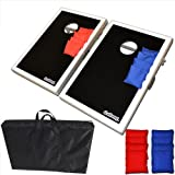 Go Pong CornHole Bean Bag Toss Game Set - Superior Aluminum Frame