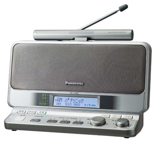 【Amazonの商品情報へ】パナソニック FM-AM 2バンドレシーバー (シルバー) RF-U700A-S