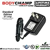 "Body Champ Cardio Dual Trainer BRM2610X, BRM3671 and BRM3780 Home Gym Power® ""Wall Plug"" AC Adapter / Power Cord"