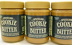 Set of 3 Trader Joe\'s Speculoos Cookie Butter