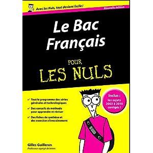 Le bac francais pour les nuls [FRENCH l DF]