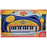 Grandi Giochi GG61256 - Tastiera con Microfono, 27 Tasti