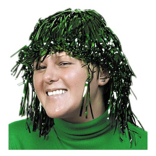 Foil Wig Green