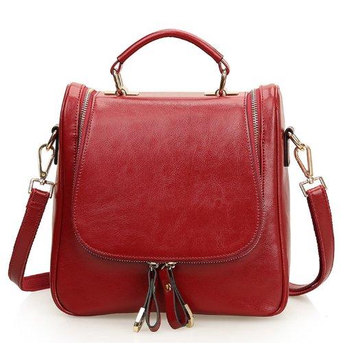 Litle Amazon Store - EcoCity Ladies Small Leather Shoulder ...