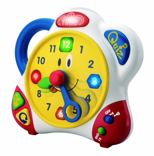 Happy Kid Toy Group Bilingual Learning Clock - 1