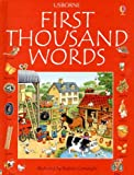 img - for First 1000 Words - English (First Thousand Words) book / textbook / text book