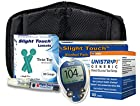 One Touch Ultra Diabetes Testing Kit - One Touch Ultra Meter, 50 Unistrip Test Strips, 100 Lancets, 100 Alcohol Pads, 1 Lancing Device