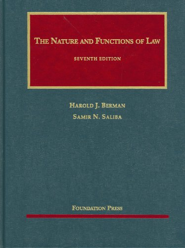 The Nature and Functions of Law