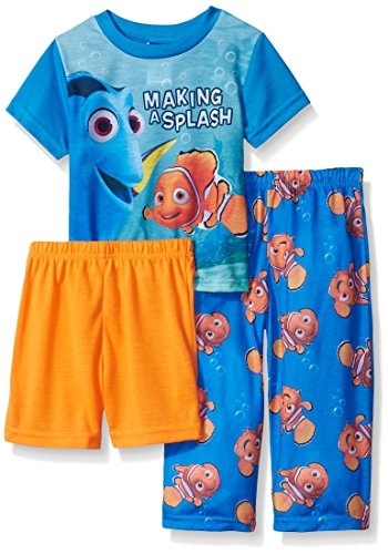 Disney Toddler Boys Finding Nemo Toddler 3pc Pajama Set