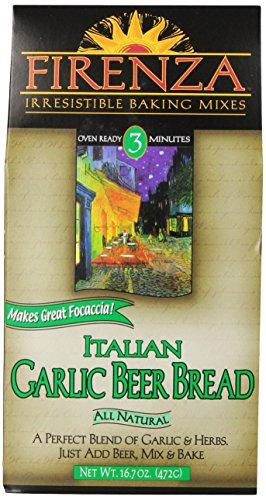 Firenza Italian Garlic Beer Bread Mix, 16.7 Ounce (Bread Machine Olive Bread compare prices)