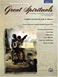 Great Spirituals (Portraits in Song): An Anthology or Program for Solo Voice and Piano for Concert and Worship (Low Voice) (Book & CD)