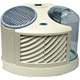 AIRCARE MA0300 4-Speed Tabletop Evaporative Humidifier, White