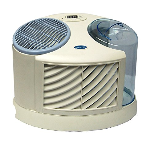 AIRCARE MA0300 4-Speed Tabletop Evaporative Humidifier, White - 1