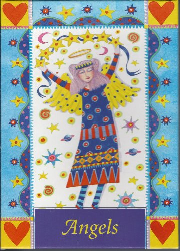 THE AMY ALLISON CARD COLLECTION ANGELS 20 BLANK CARDS 4 ANGEL DESIGNS 5 OF EACH DESIGN and 20 ENVELOPES CARLTON CARDS INC