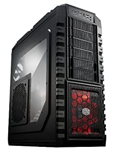 Cooler Master HAF X - Full Tower Computer Case with High Airflow Windowed Side Panel and USB 3.0