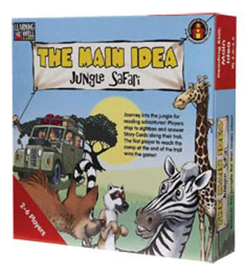 Edupress Lrn104 The Main Idea Jungle Safari Red back-695295