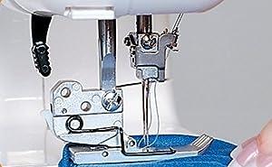 Janome Cover Pro 1000CPX Coverstitch Machine with Exclusive Bonus Bundle (Color: white)