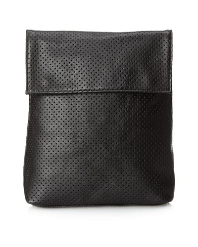 Possé Women's Ives Backpack, Black Perforated As You See